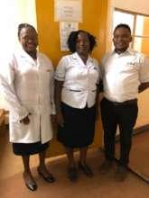 Kamili nurses at an outreach clinic