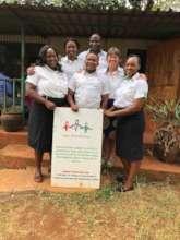 The amazing team at Kamili Organisation in Nairobi