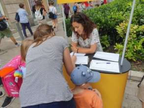 Gathering signatures