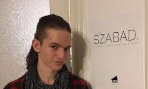 Zsigmond Rekasi, student protester