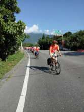 cycling tour during the camping trip.