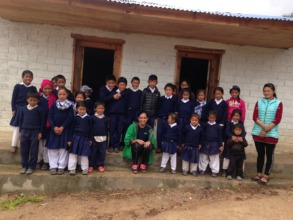 The children at Ramailio Jyothi School