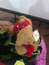 A stuffed bear is always appreciated!