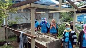 Building Wash Station at Mukammali Elementary