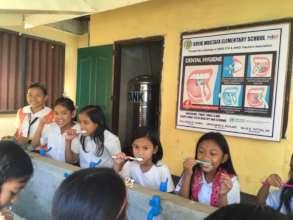 Brushing Teeth at School