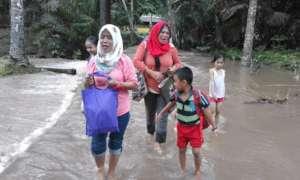 Monsoon floods in Sulu June 2018