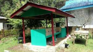 Completed WASH site at Mukammali Elementary