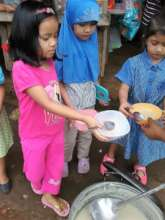 Lunch is so good at Sahaya Elementary