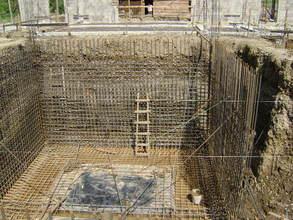 Clinica Verde's cistern