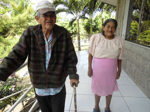Local residents at the Boaco Nursing Home.
