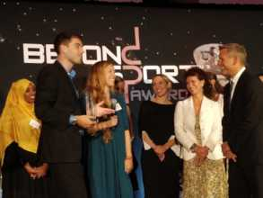 Beyond Sport Global Impact of the Year Award