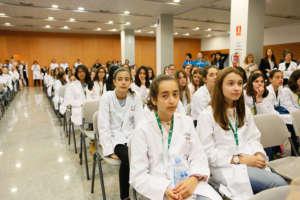 Reaching so many young women in Spain!