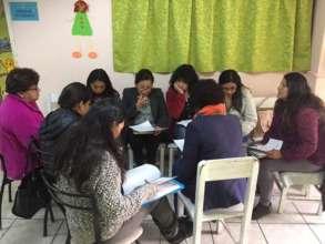 NOVA team hard at work during private workshop