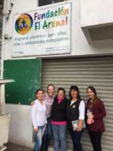 Visiting our partner El Arenal