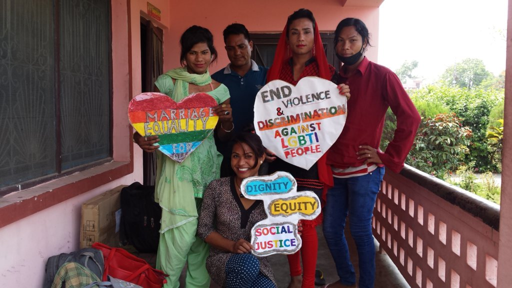 Sensitized 15000 People on LGBTQ in Nepal