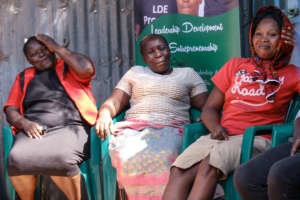 Celebrating women's day with Kibera mothers