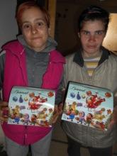 KEC Provides Marija and Zorica Holiday Presents