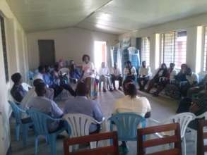 Training community stakeholders