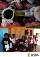 STUDENTS OF LAINDE WITH THE CDM TEAM & TEACHERS