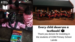 Every Child Deserves A Textbook!