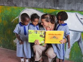 Nursery School Girls Literacy