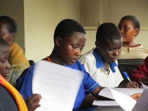 Peer Education Girls Training