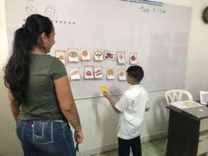 Parents invited to experience English class