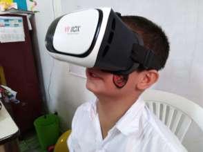 Virtual reality on Technology Day