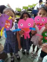 Hearts and stars from first grade students
