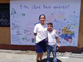 Messages of peace from Colombian children