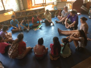 Story-telling session