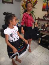 Dance class at home