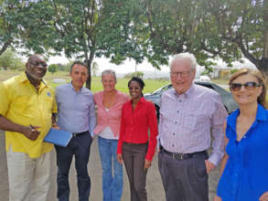 INMED team meets with HEART on aquaponics project