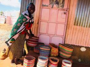 Assisting the elderly to an income selling kiondos