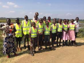 Class 5 at Mwea Irrigation Scheme