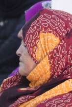 Amazigh woman attending a One Health session