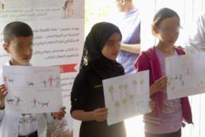 Drawing competition on One Health in schools