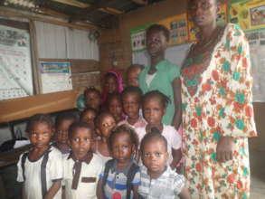 Children in un-condusive learning environment
