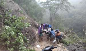 Treacherous travel conditions faced by our CHWs
