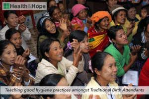 Teaching good hygiene practices amongst TBAs