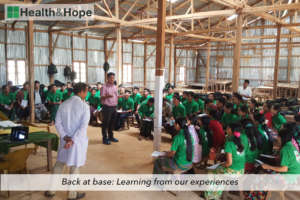 Back at base: Learning from our experiences