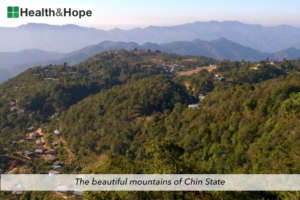 The beautiful mountains of Chin State