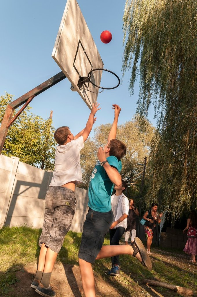 Build a School Gym and Community Hall in Hungary