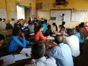 Development Planning Session at Khun Ream School