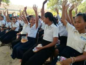 School Campaign at Tbeng Secondary School