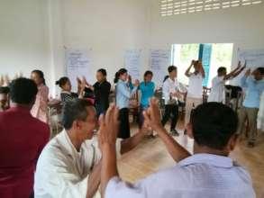 SSC Fundraising Training at Kbeng Commune