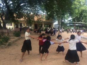 Children Playing After Class