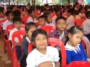 Chann Sar School Enrolment Campaign