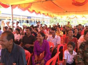 Parents Attend Education Campaign