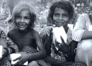 The #Happiness of Slum children's !!
